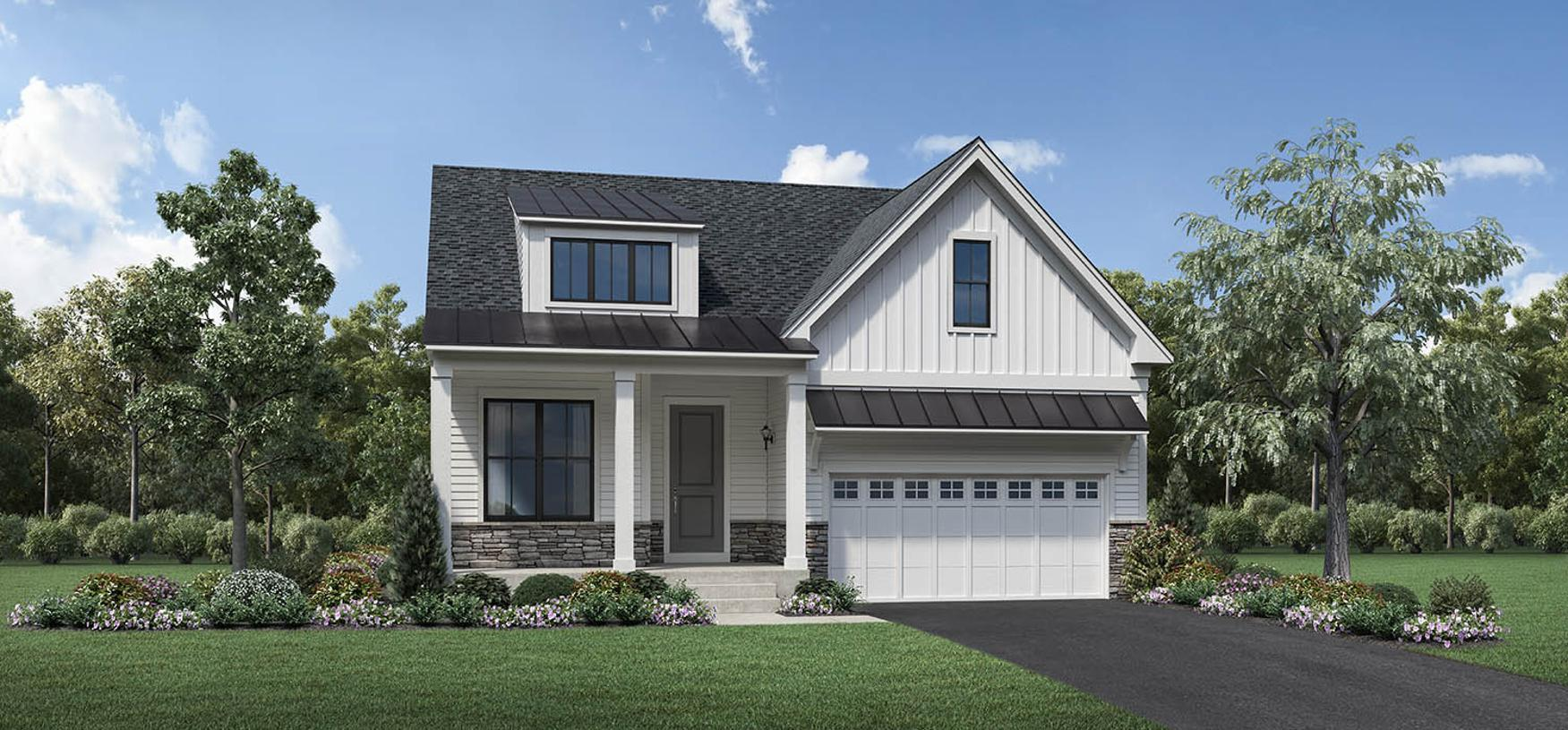 Exterior featured in the Windhill By Toll Brothers in Bridgeport, CT