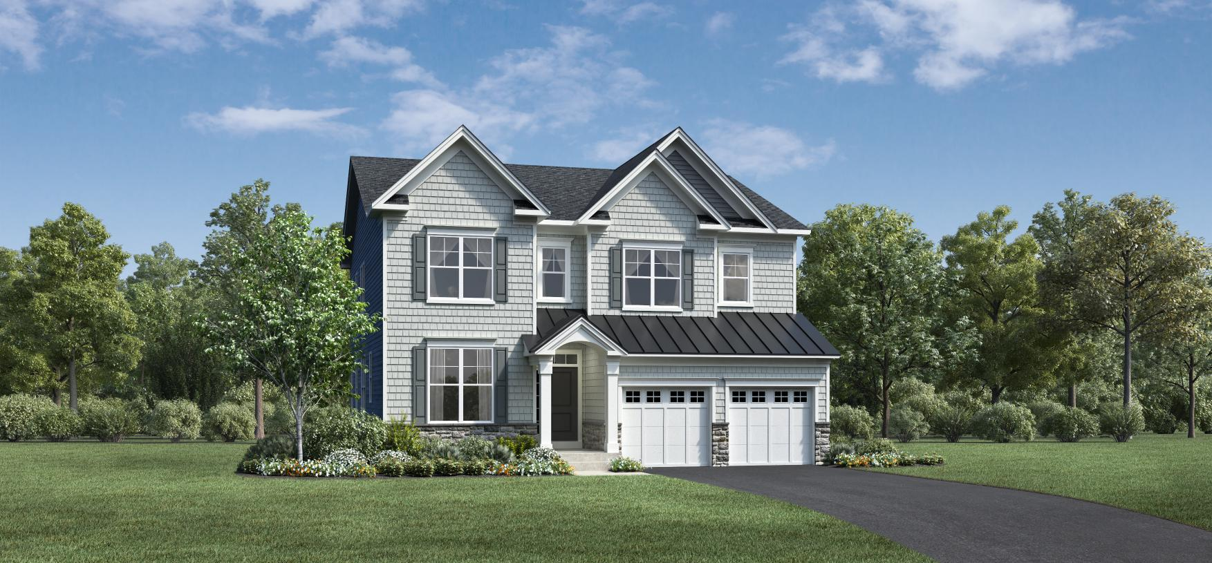 Exterior featured in the Saybrook By Toll Brothers in Bridgeport, CT