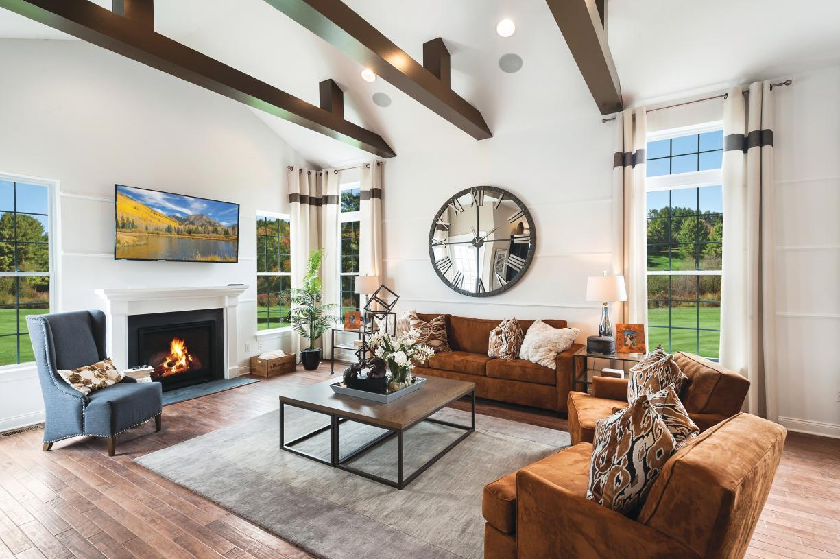 Living Area featured in the Kinkade By Toll Brothers in Philadelphia, PA