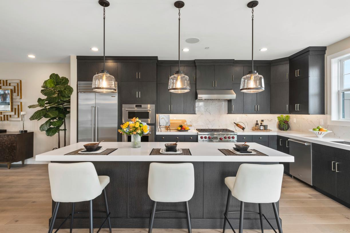 Kitchen featured in the Dansfield By Toll Brothers in Bergen County, NJ