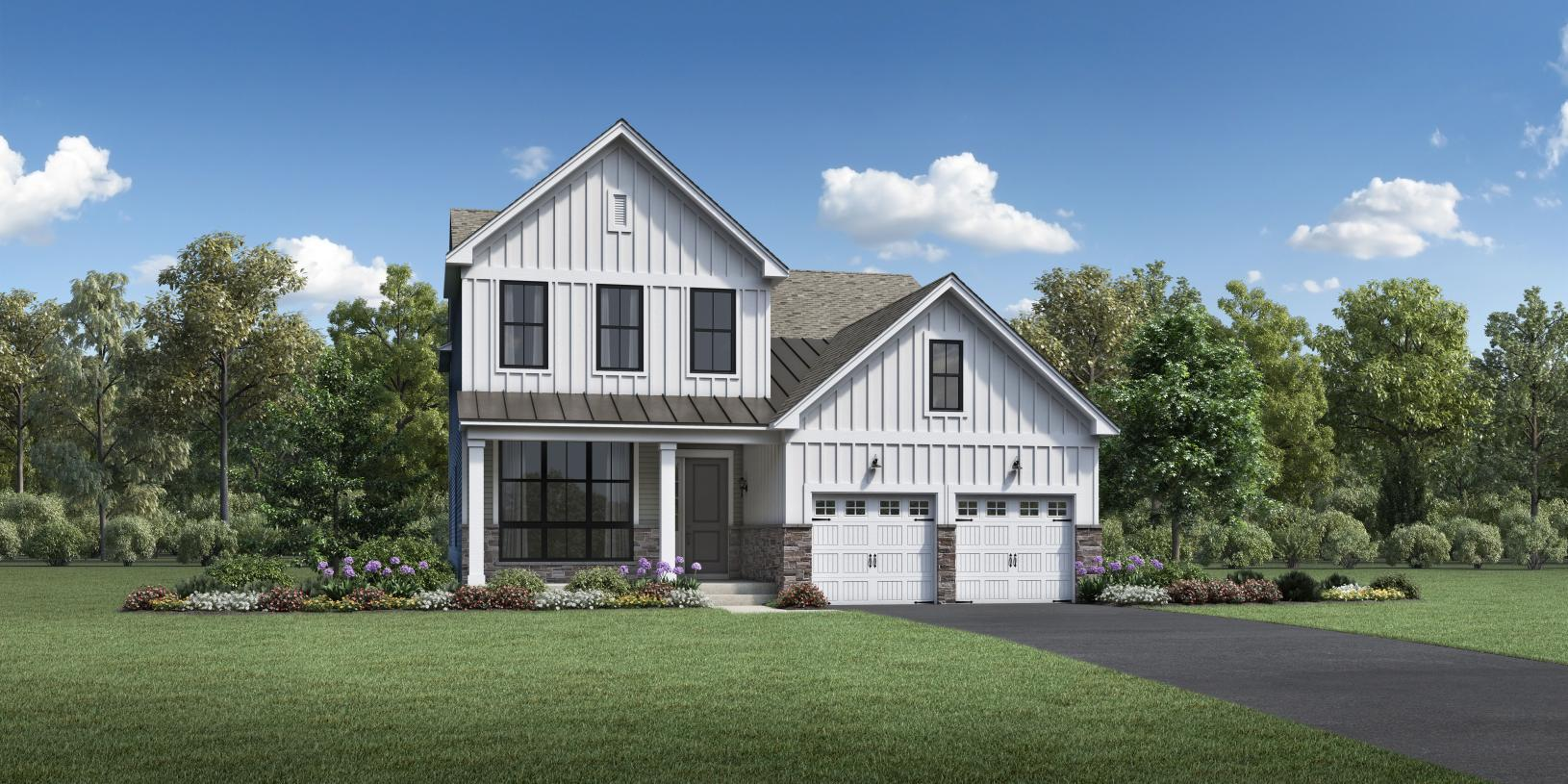 Exterior featured in the Hingham By Toll Brothers in Boston, MA