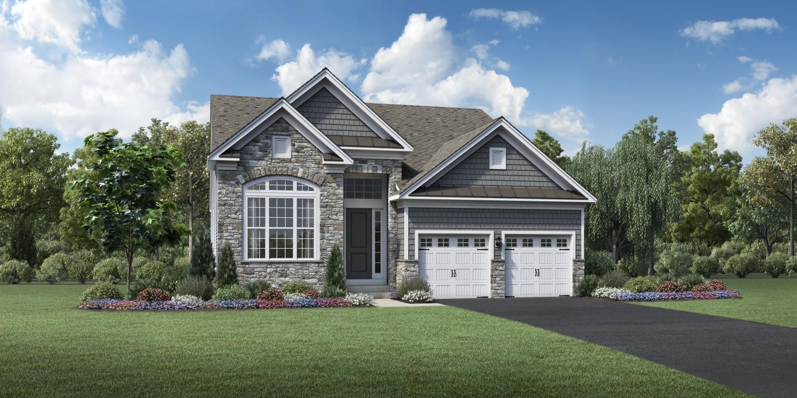 Exterior featured in the Boxford By Toll Brothers in Boston, MA