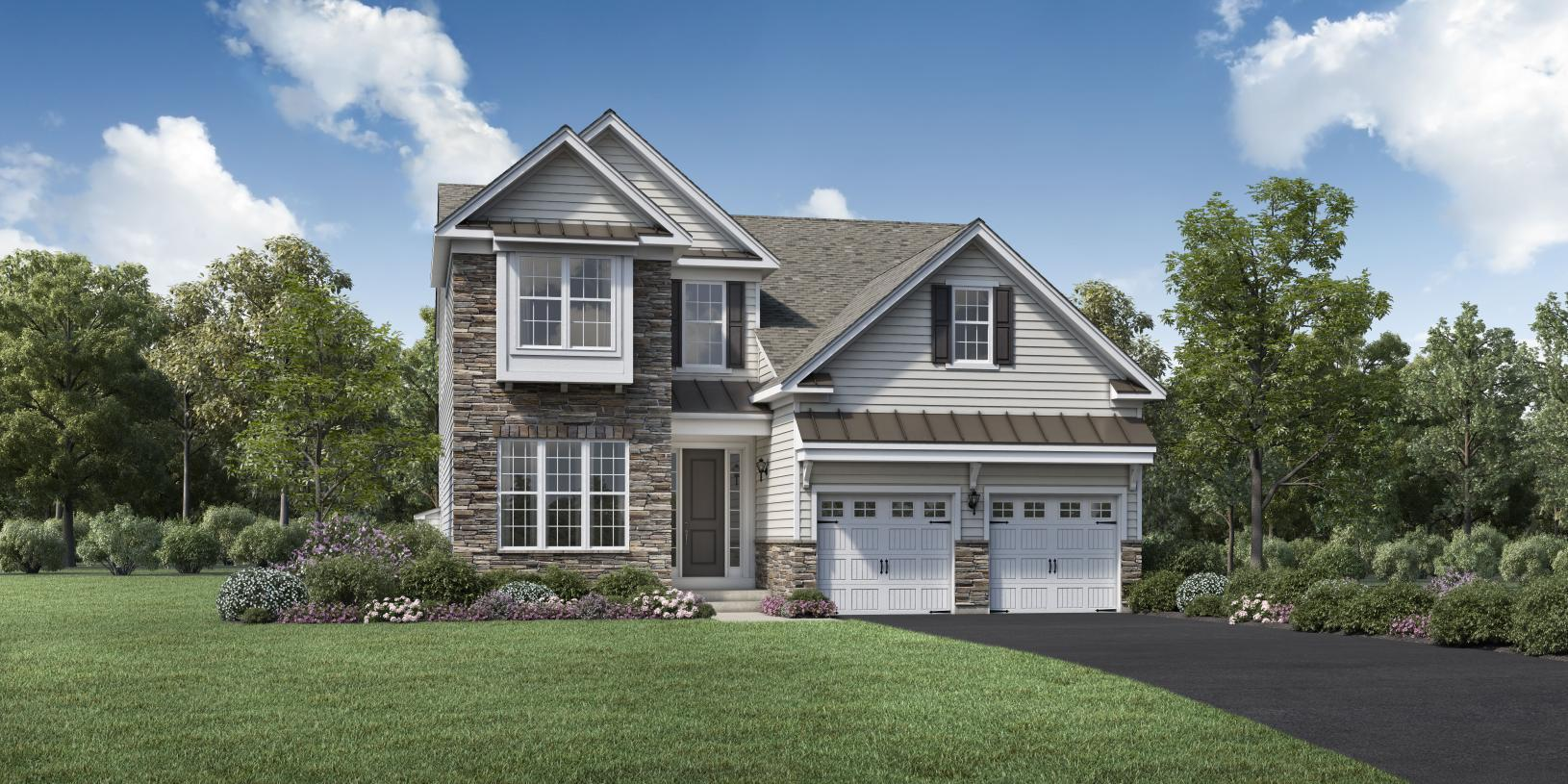 Exterior featured in the Winchester By Toll Brothers in Boston, MA