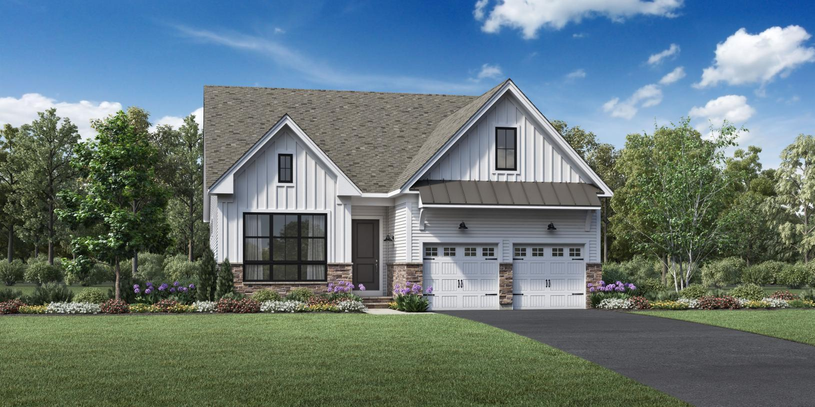 Exterior featured in the Topsfield By Toll Brothers in Boston, MA