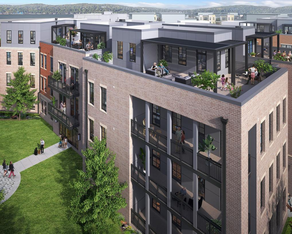 Exterior featured in the 3204 By Toll Brothers in New York, NY