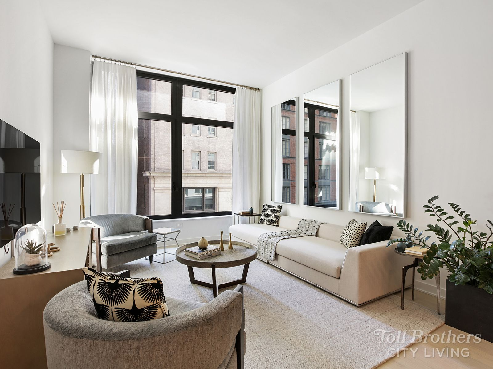 Living Area featured in the S12A By Toll Brothers in New York, NY