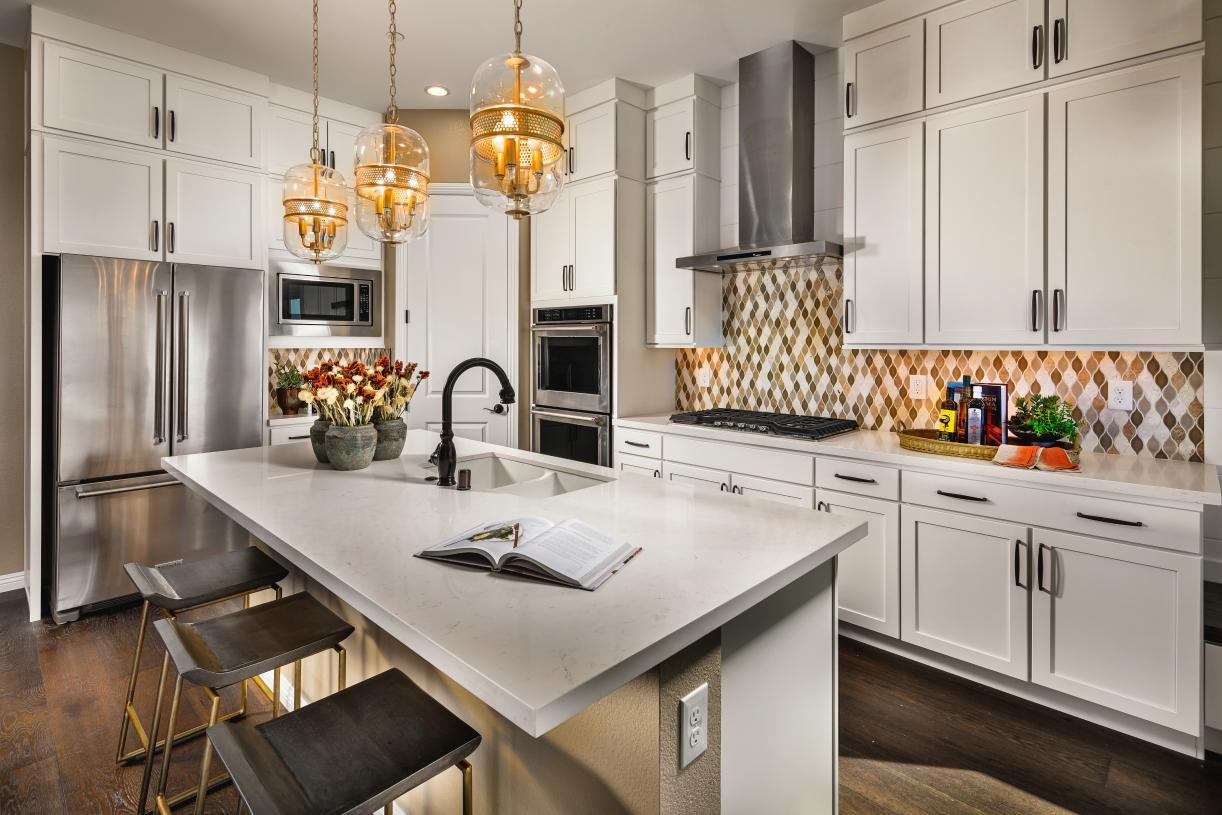 Kitchen featured in the Kerry By Toll Brothers in Reno, NV