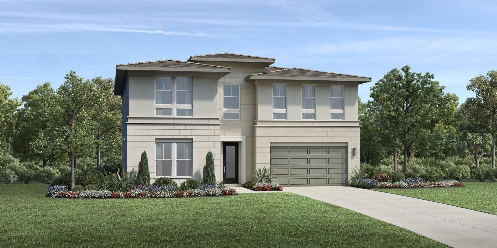 Exterior featured in the Sagewood By Toll Brothers in Orange County, CA