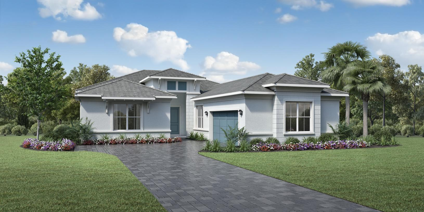 Exterior featured in the Shelby By Toll Brothers in Palm Beach County, FL