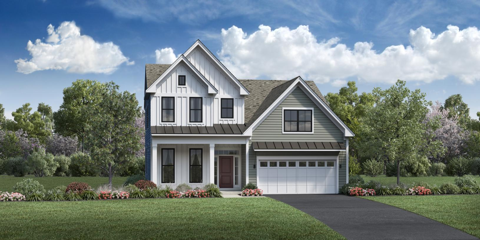 Exterior featured in the Florham By Toll Brothers in Monmouth County, NJ