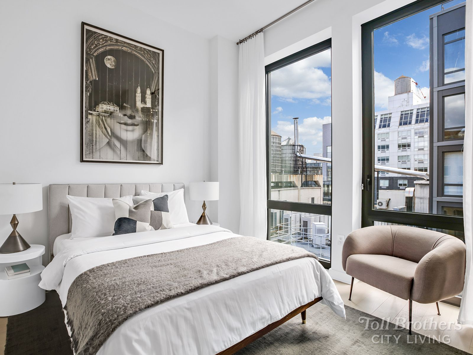 Bedroom featured in the N13C By Toll Brothers in New York, NY