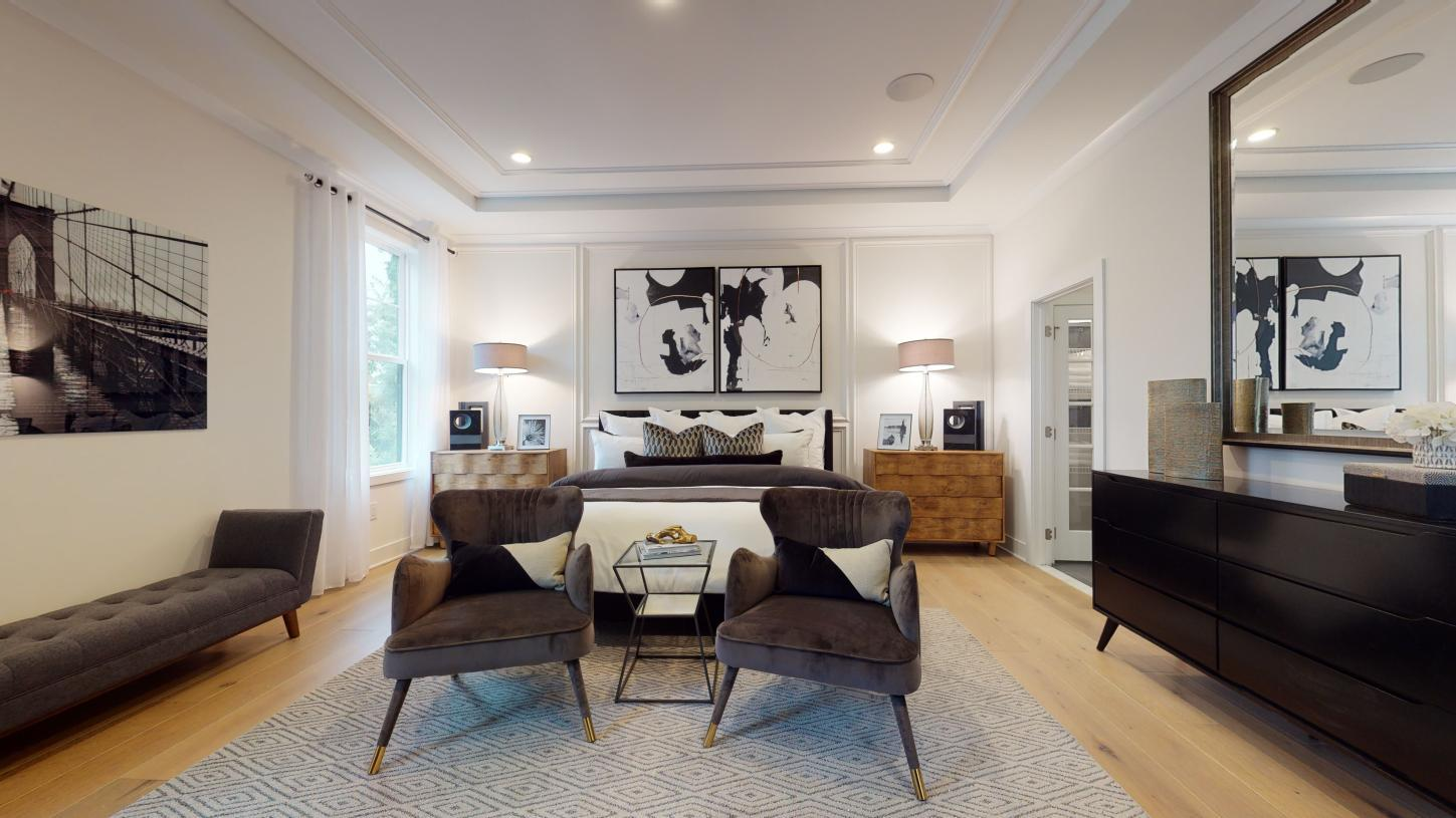 Bedroom featured in the Florham By Toll Brothers in Monmouth County, NJ