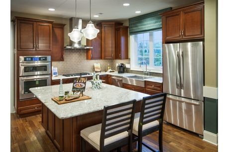 Kitchen-in-Bucknell-at-Regency at Yardley - The Carriage Collection-in-Yardley