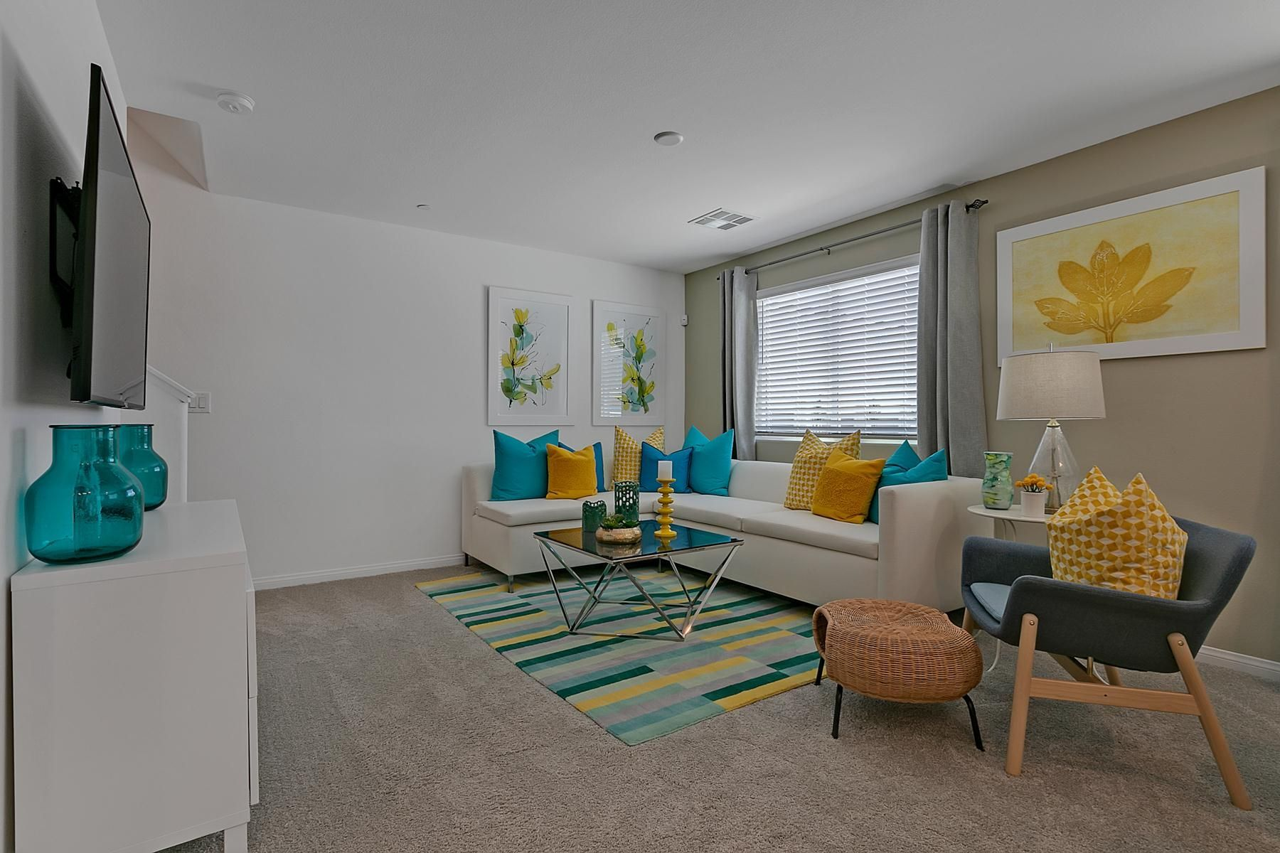 Living Area featured in the Marble Plan 230 By Touchstone Living in Las Vegas, NV