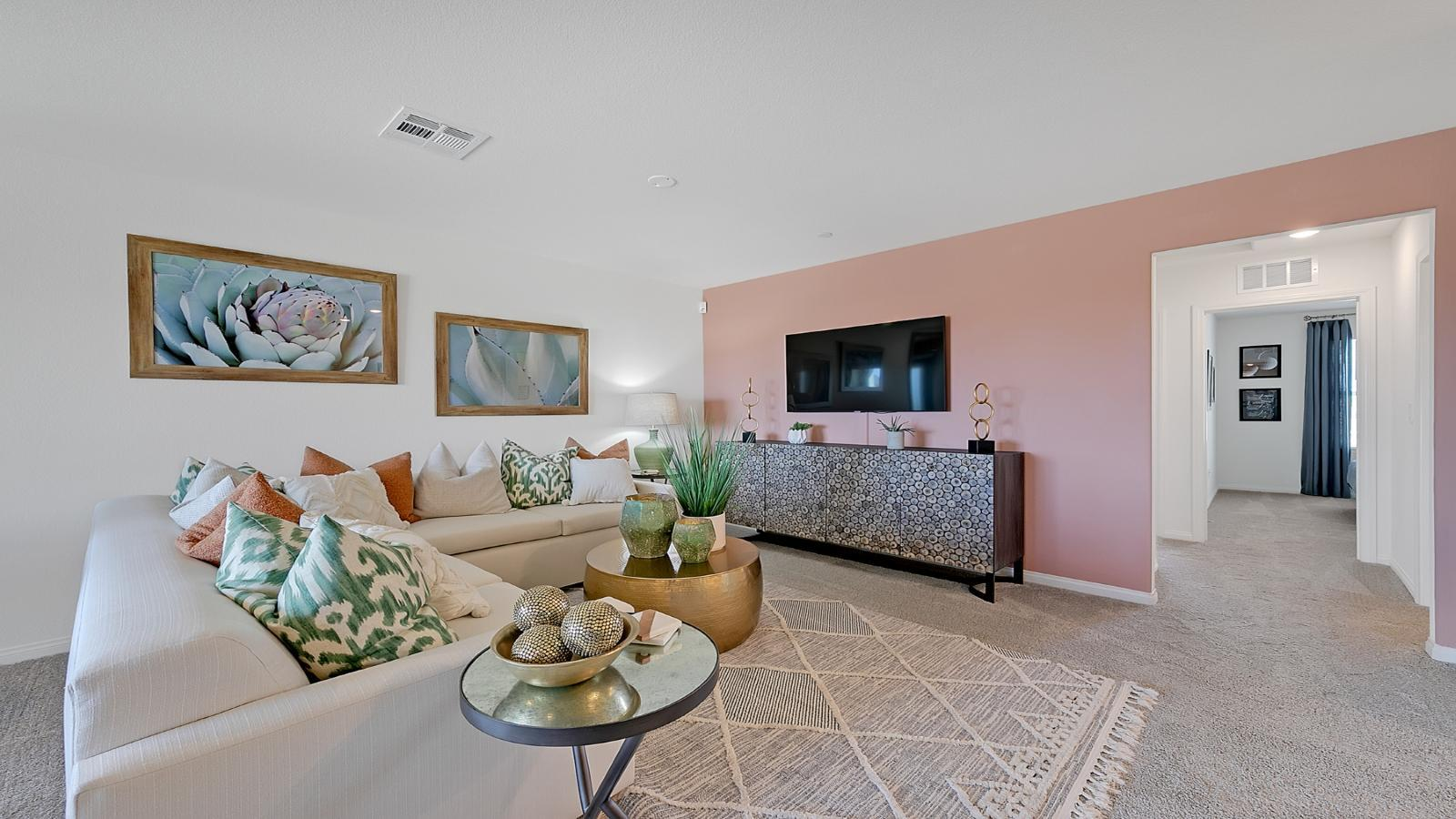 Living Area featured in the Crimson Plan 525 By Touchstone Living in Las Vegas, NV