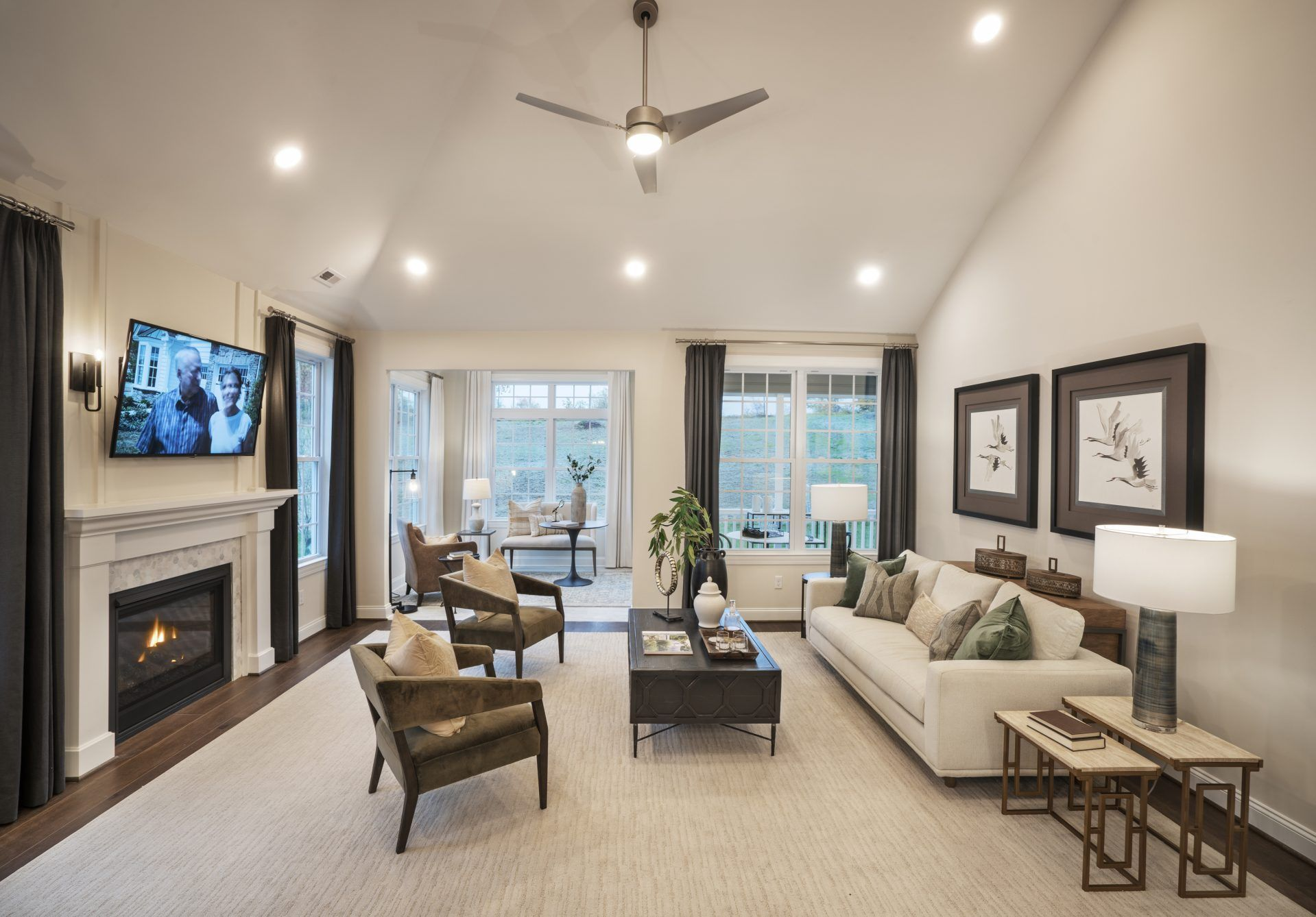 Living Area featured in The Adams By Traditions of America in Allentown-Bethlehem, PA