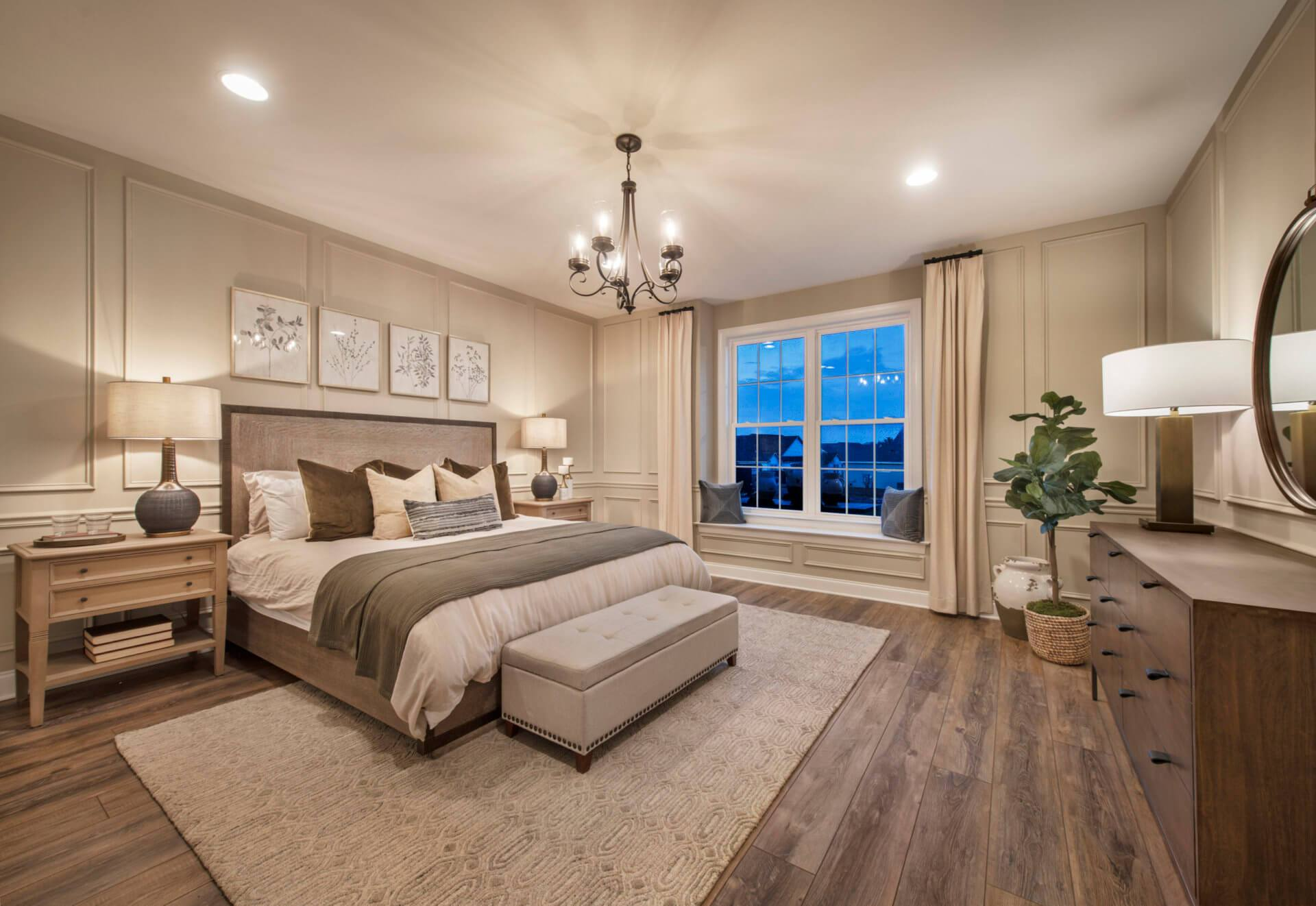 Bedroom featured in The Adams By Traditions of America in Pittsburgh, PA