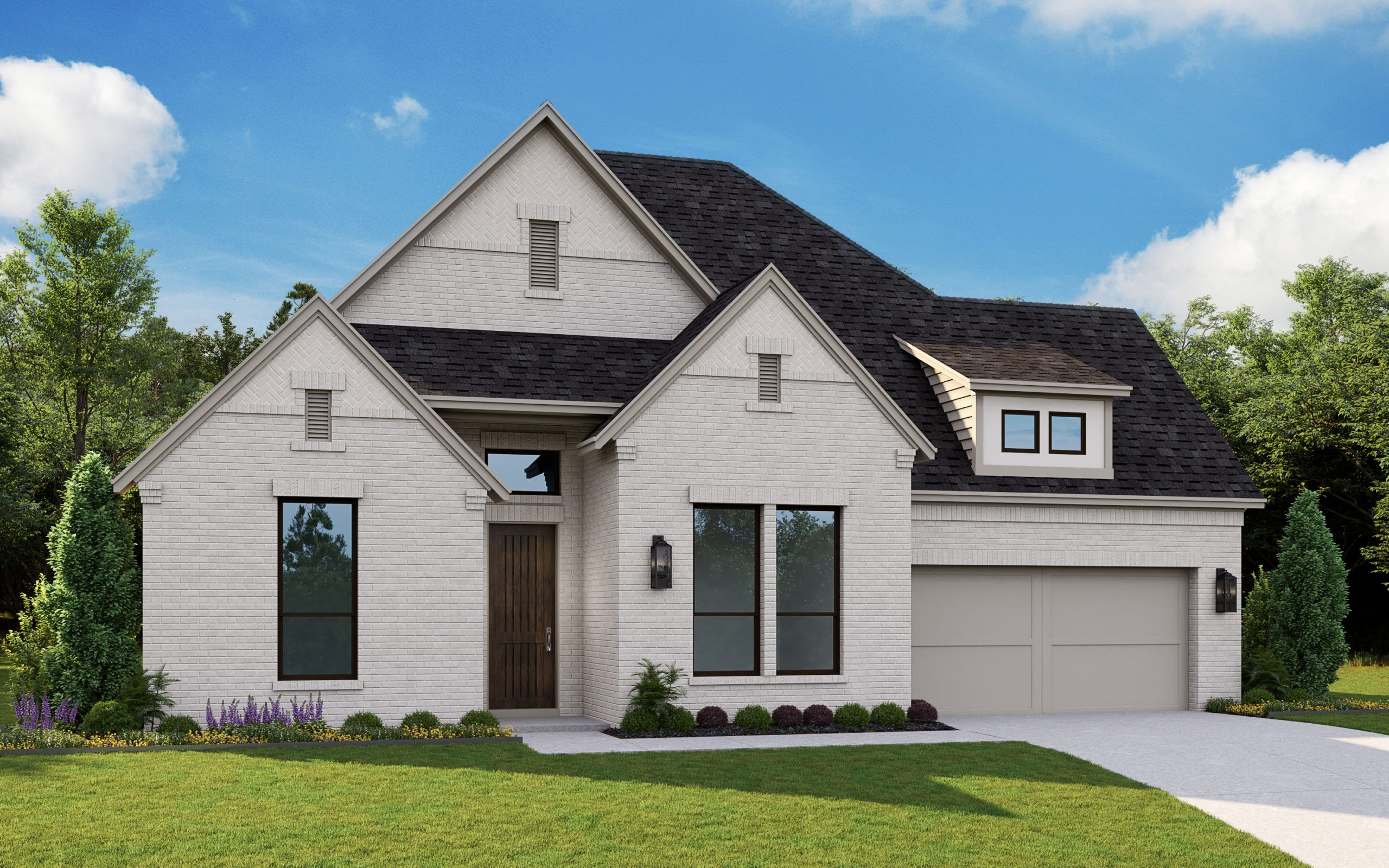 Exterior featured in the 5011 By Tradition Homes in Fort Worth, TX