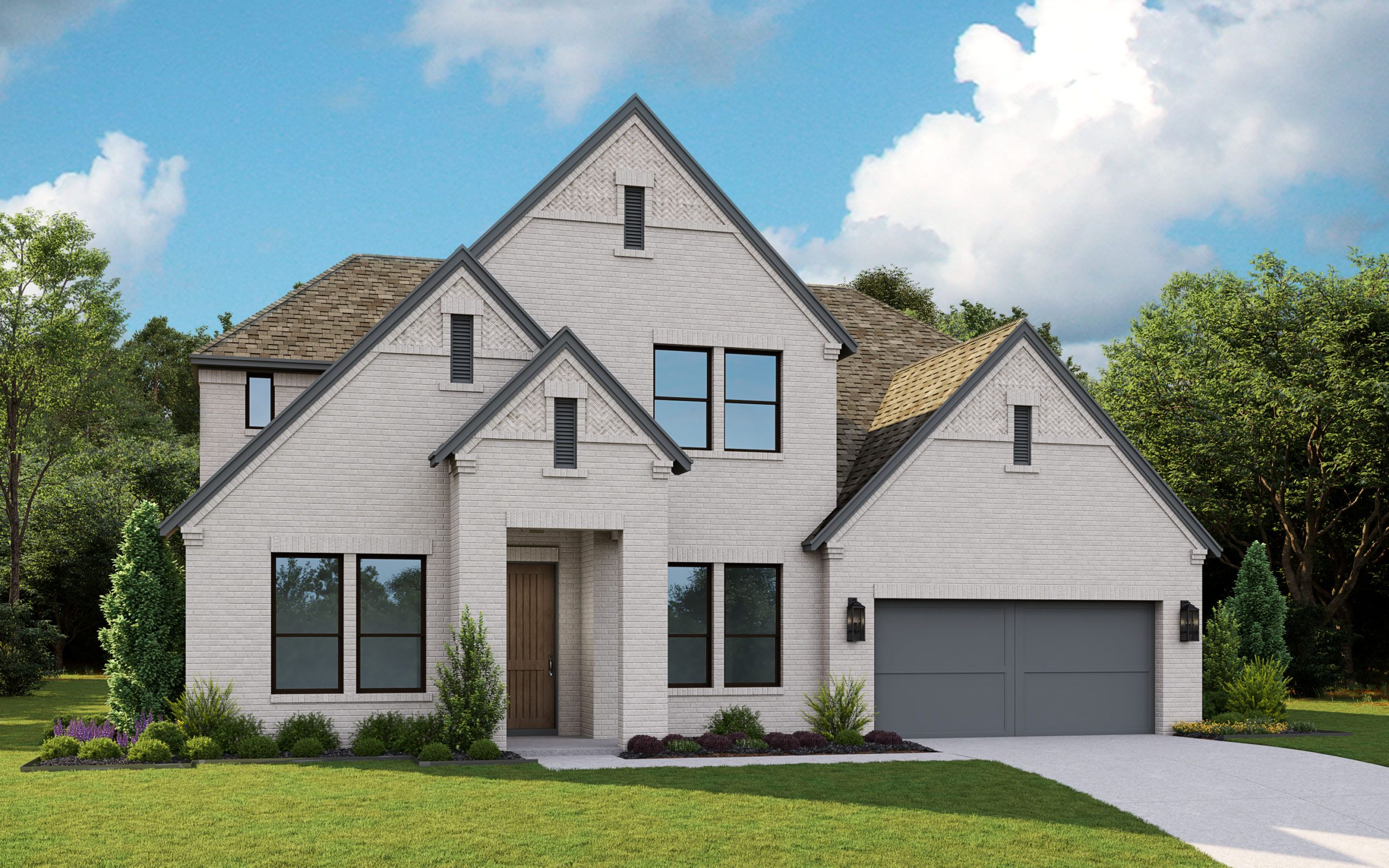 Exterior featured in the 5041 By Tradition Homes in Dallas, TX