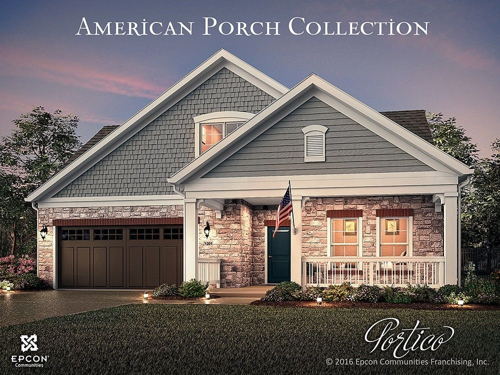 Exterior featured in the Portico Two By Traton Homes in Atlanta, GA