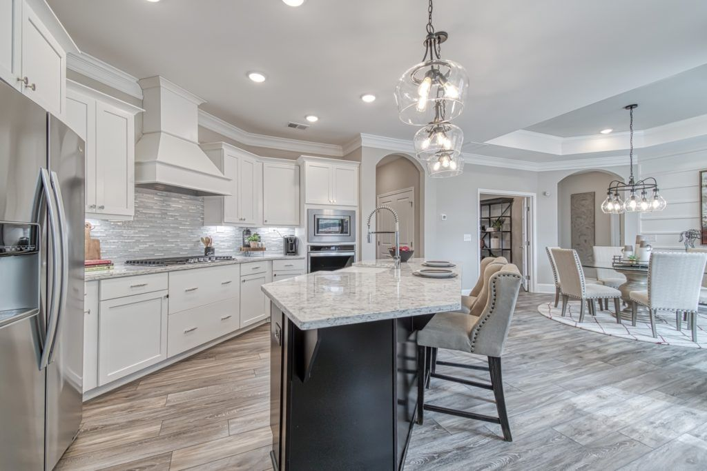 Kitchen featured in the Promenade Three By Traton Homes in Atlanta, GA