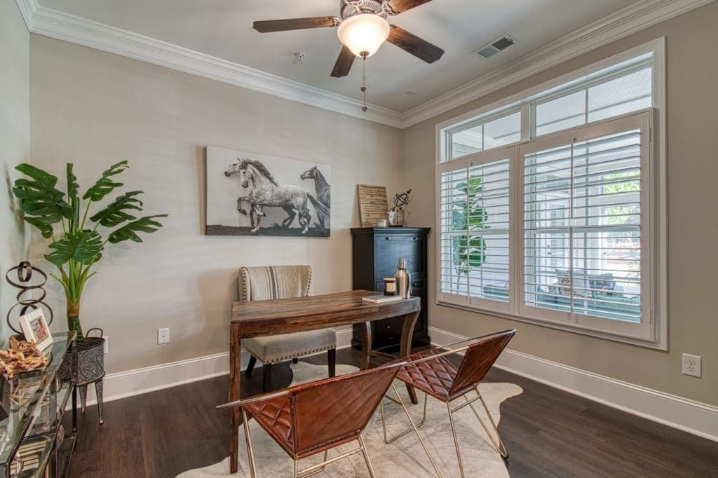 Living Area featured in the Promenade Three By Traton Homes in Atlanta, GA