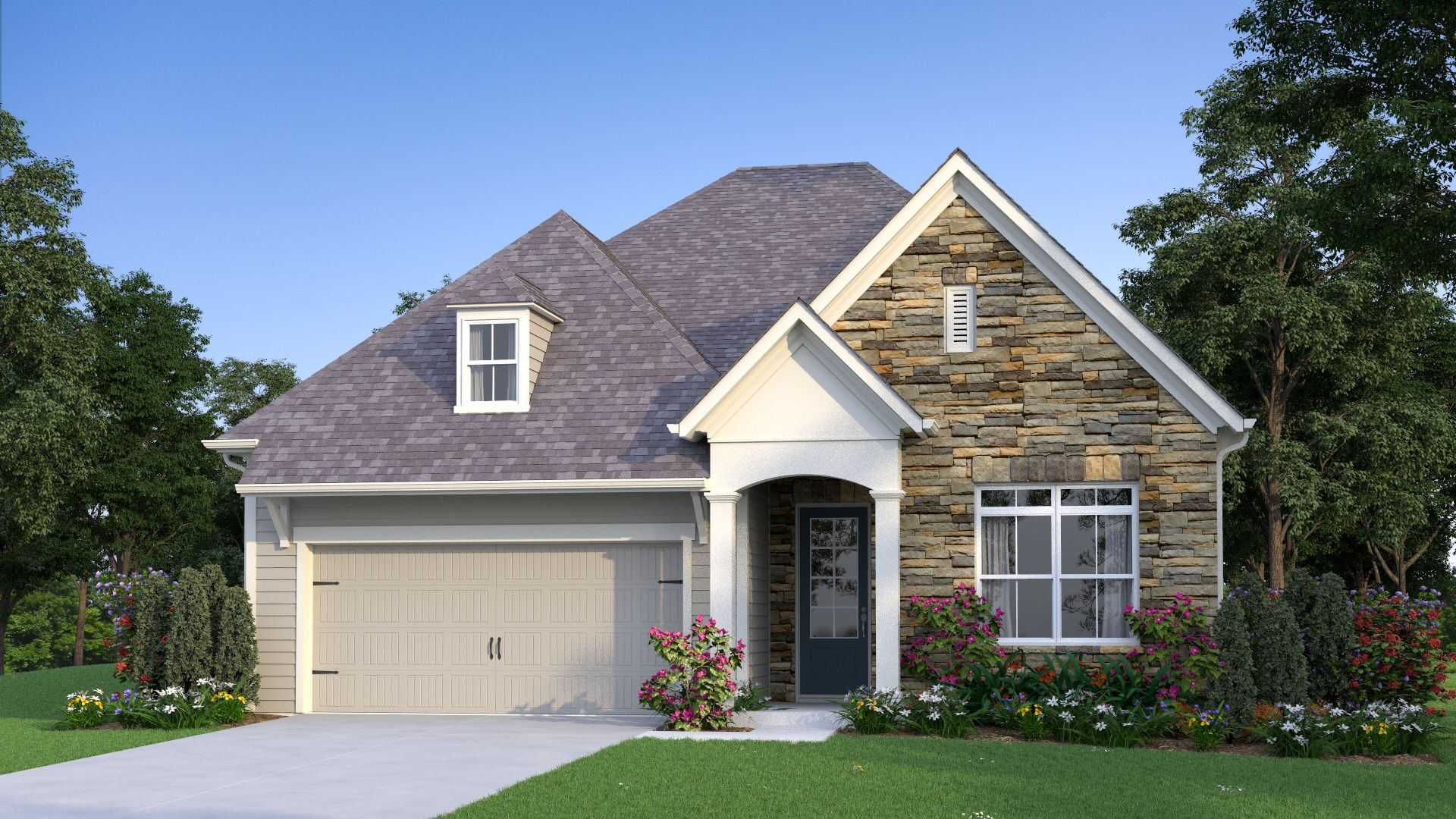 Exterior featured in the Dunaway By Traton Homes in Atlanta, GA