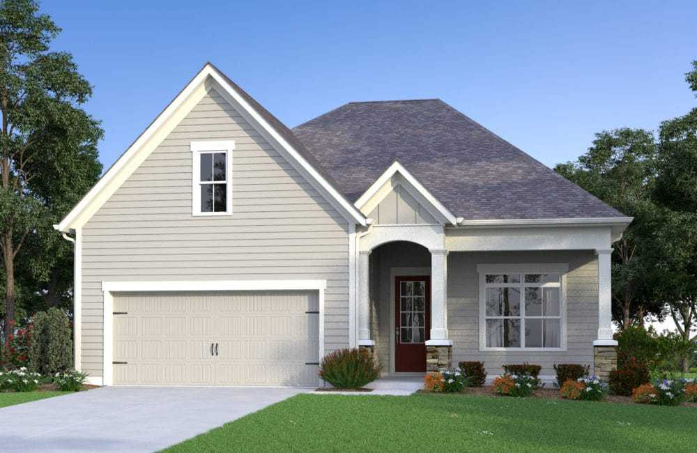 Exterior featured in the Newman By Traton Homes in Atlanta, GA