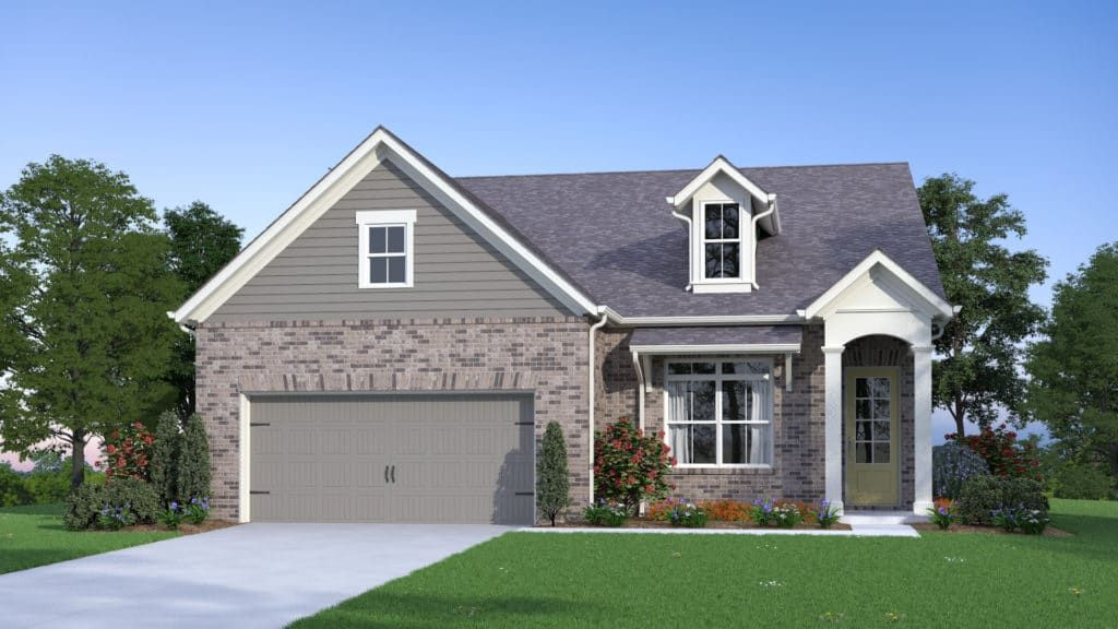 Exterior featured in the Redford By Traton Homes in Atlanta, GA
