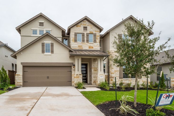 204 Lavaca Heights Dr:204 Lavaca Heights Dr | Plan 604F | Front Elevation