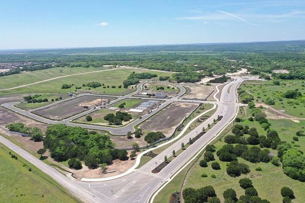 6 Creeks | Aerial View (Pre-Construction):6 Creeks in Kyle, Texas | Aerial View
