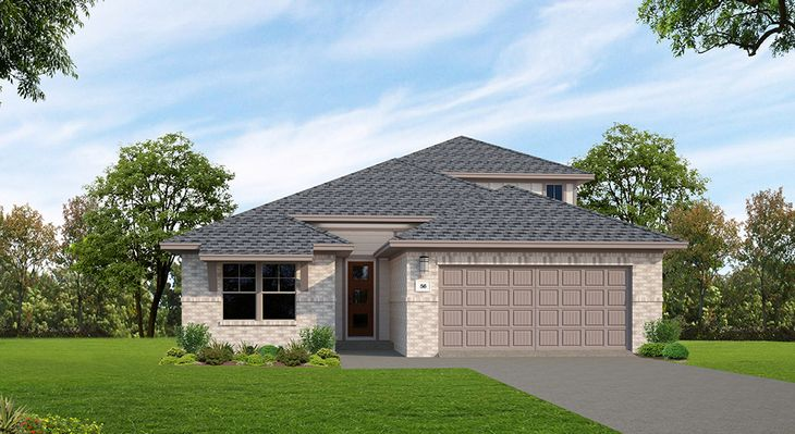 Fairfield | Elevation A:The Grove at 6 Creeks | Fairfield | Elevation A