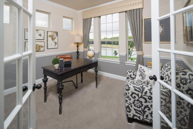 GRZ IMPORT IMAGE:Woodcreek | Grayson Model Home | Study