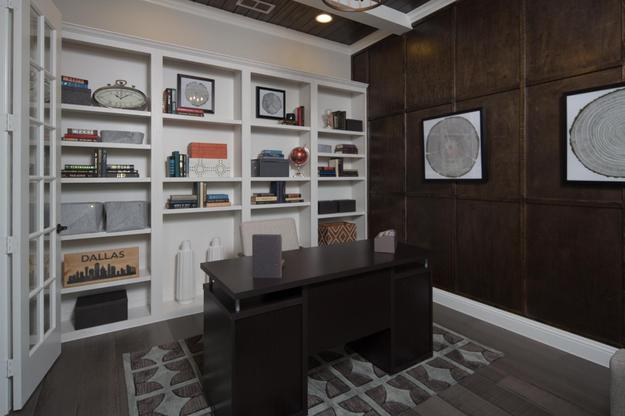GRZ IMPORT IMAGE:Parks at Legacy | Scarlett Model Home | Study