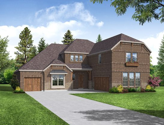 Landon Floor Plan:Landon - Elevation D