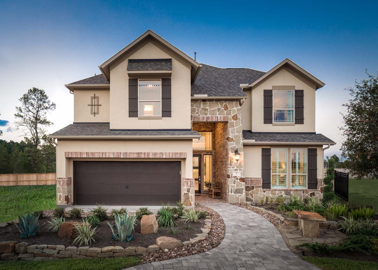 The Woodlands At Creekside 55 In TX New Homes Floor Plans By Trendmaker