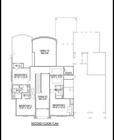 Plan F874 Plan Missouri City Texas 77459 Plan F874 Plan At - Trendmaker Homes Floor Plans