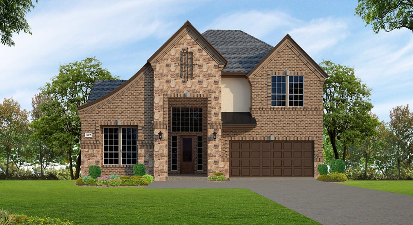 Villas At The Reserve 50\' in Houston, TX, New Homes & Floor Plans by ...