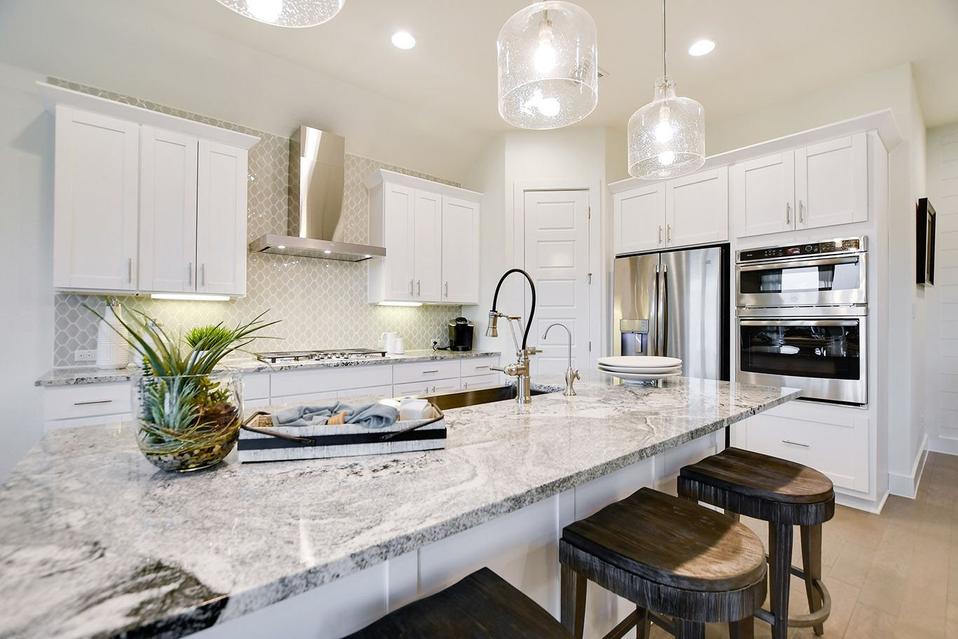 Kitchen featured in the Foss By Trendmaker Homes in Austin, TX