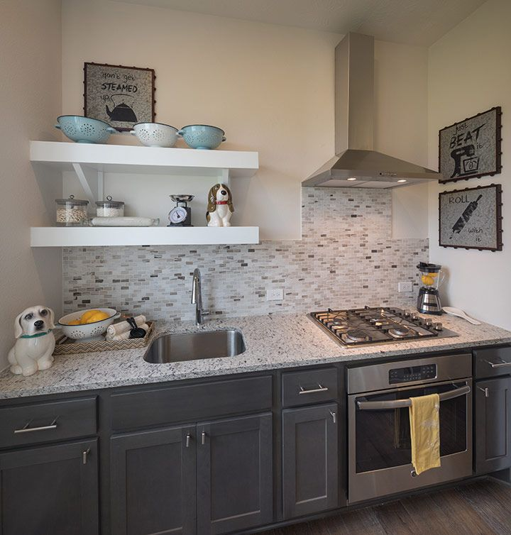 Kitchen featured in the Trieste By Trendmaker Homes in Houston, TX