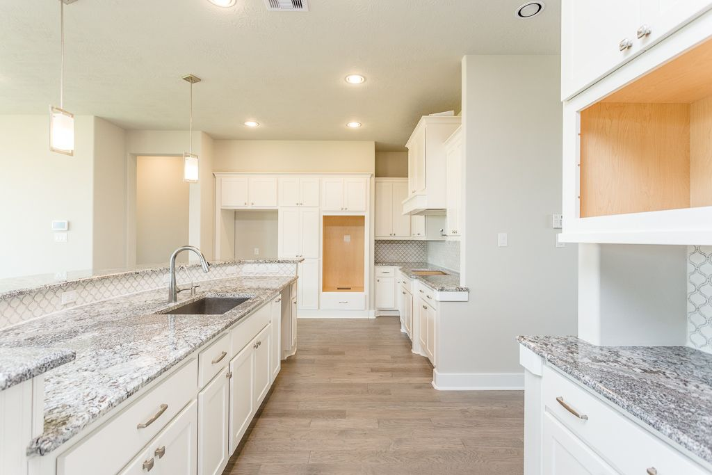Kitchen featured in the Messina By Trendmaker Homes in Houston, TX