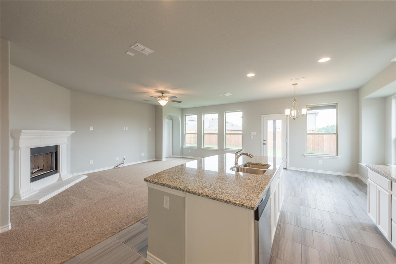 Kitchen featured in the Camelot By Trendmaker Homes in Dallas, TX