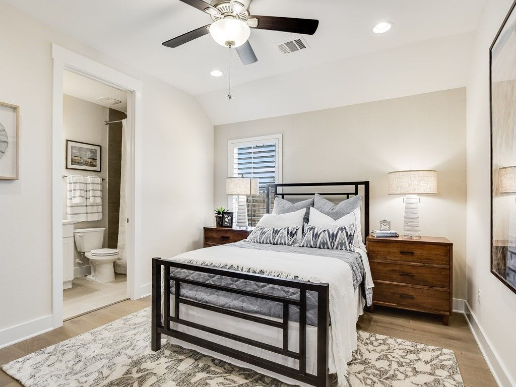 Bedroom featured in the Clebourne By Trendmaker Homes in Austin, TX