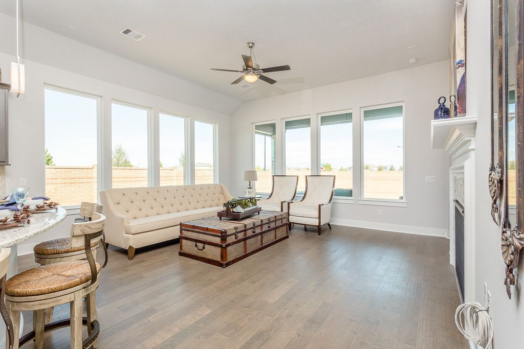 Living Area featured in the Hawthorn By Trendmaker Homes in Houston, TX
