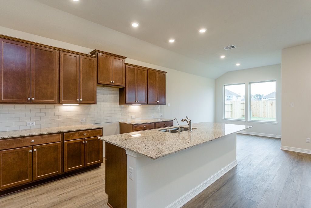 Kitchen featured in the Meadowlark By Trendmaker Homes in Houston, TX