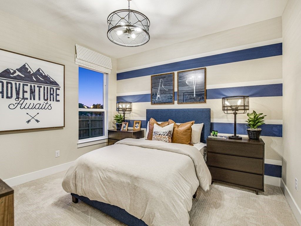 Bedroom featured in the Guadalupe By Trendmaker Homes in San Antonio, TX