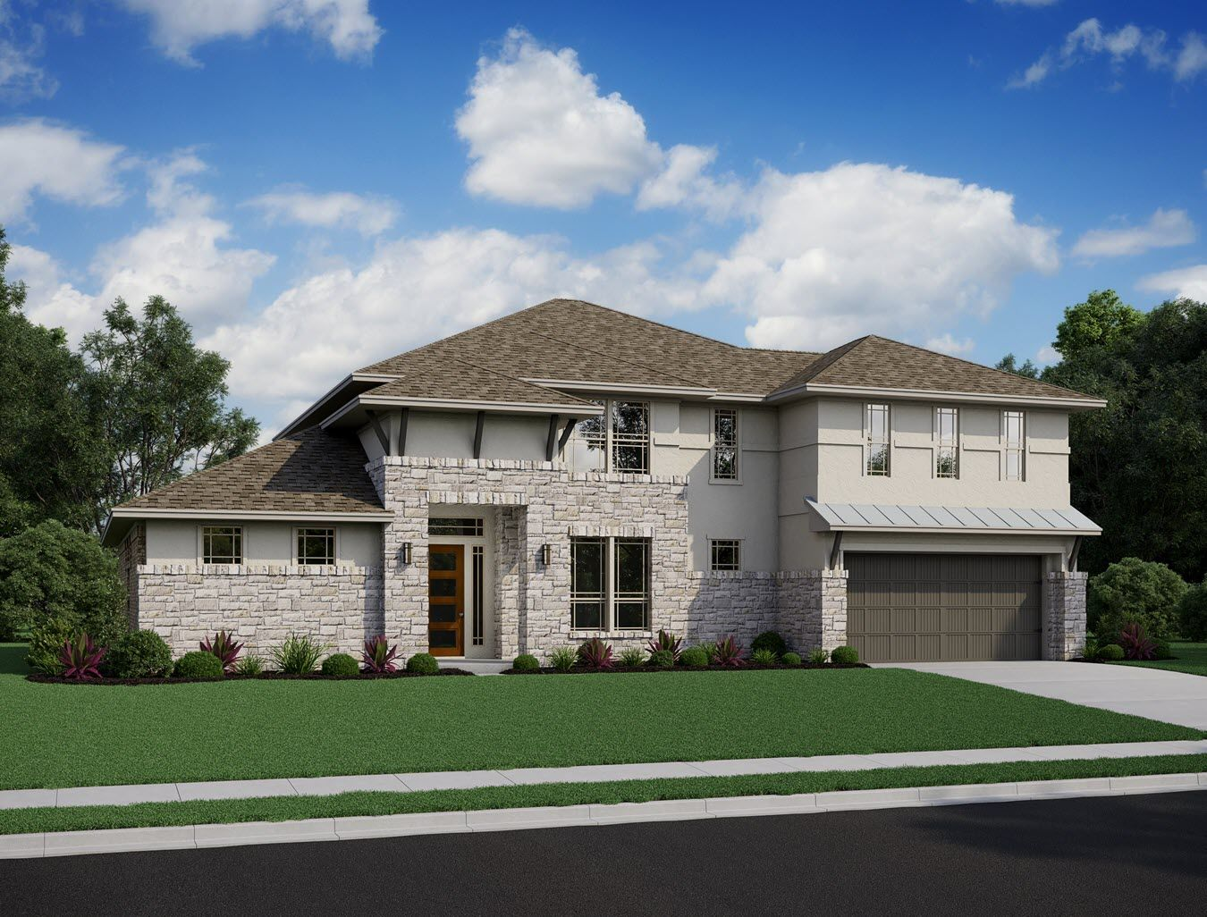 Exterior featured in the Messina By Trendmaker Homes in Houston, TX
