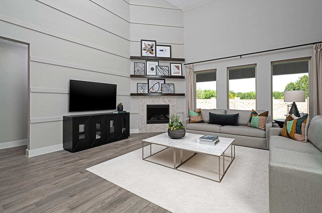 Living Area featured in the Ethan By Trendmaker Homes in Dallas, TX