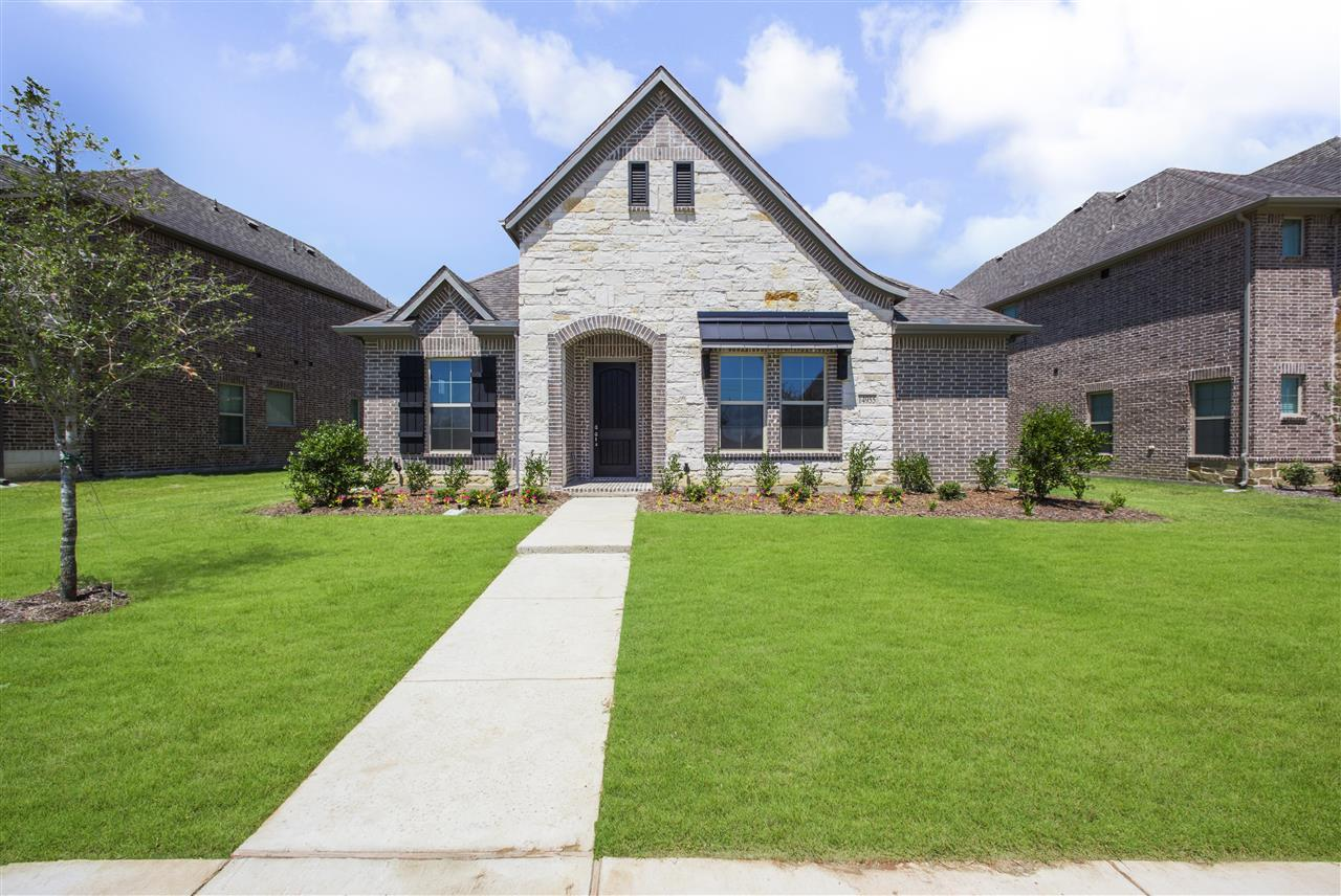 Exterior featured in the Reese By Trendmaker Homes in Fort Worth, TX