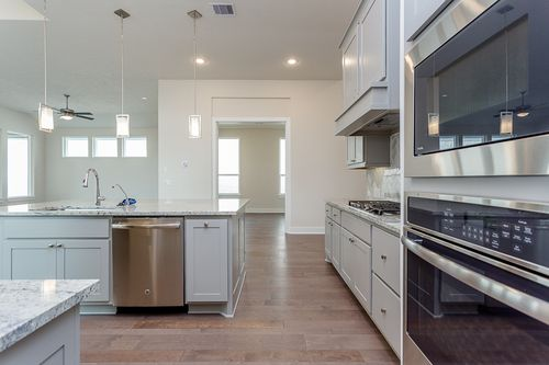 Kitchen-in-Plan PB52-at-Villas at The Groves 50'-in-Humble